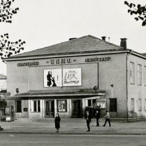 Кинотеатр Раху в 60-70 годах прошлого века. Фото: архив.