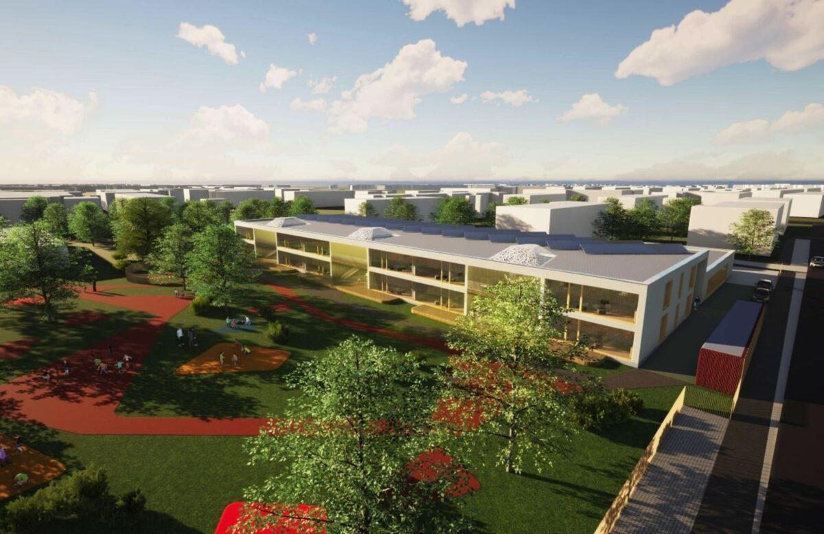 """Новое здание детского сада """"Маазикас"""" будет готово в ноябре 2022 года. Источник фото: Tallinna Linnavalitsus."""